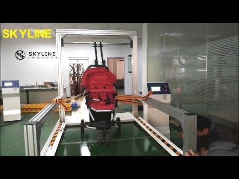 EN 1888-2018 Lab Testing Equipment Stroller Dynamic Durability Tester