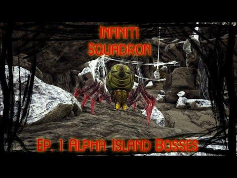Infiniti Squadron- Ark Ep. 1- Alpha Island Bosses