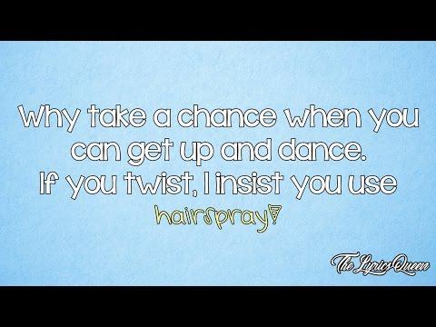 James Marsden [Hairspray] - (It's) Hairspray [Lyrics] HD