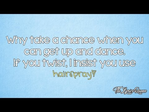 James Marsden [Hairspray] - (It's) Hairspray [Lyrics] HD