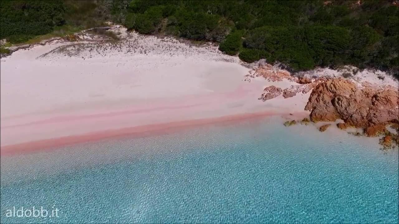 Spiaggia Rosa Pink Beach Budelli Arcipelago Di La Maddalena Sardinia Italy You