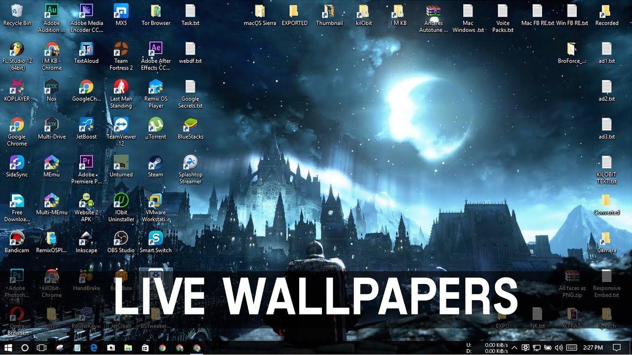 How To Set Live Animated Wallpapers Windows  Wallpaper Engine