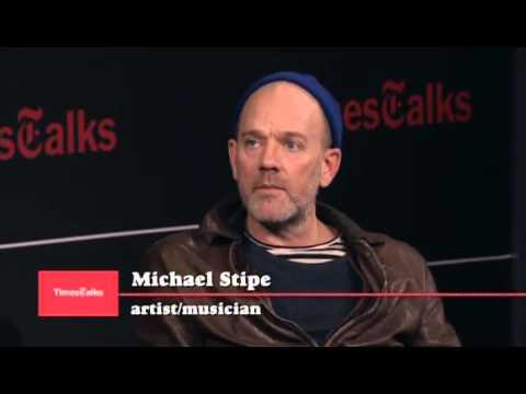 Michael Stipe    TimesTalks