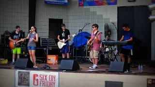 "Six on Friday ""Everybody Talks"" at Palatine Jaycees Hometown Fest June 2018"