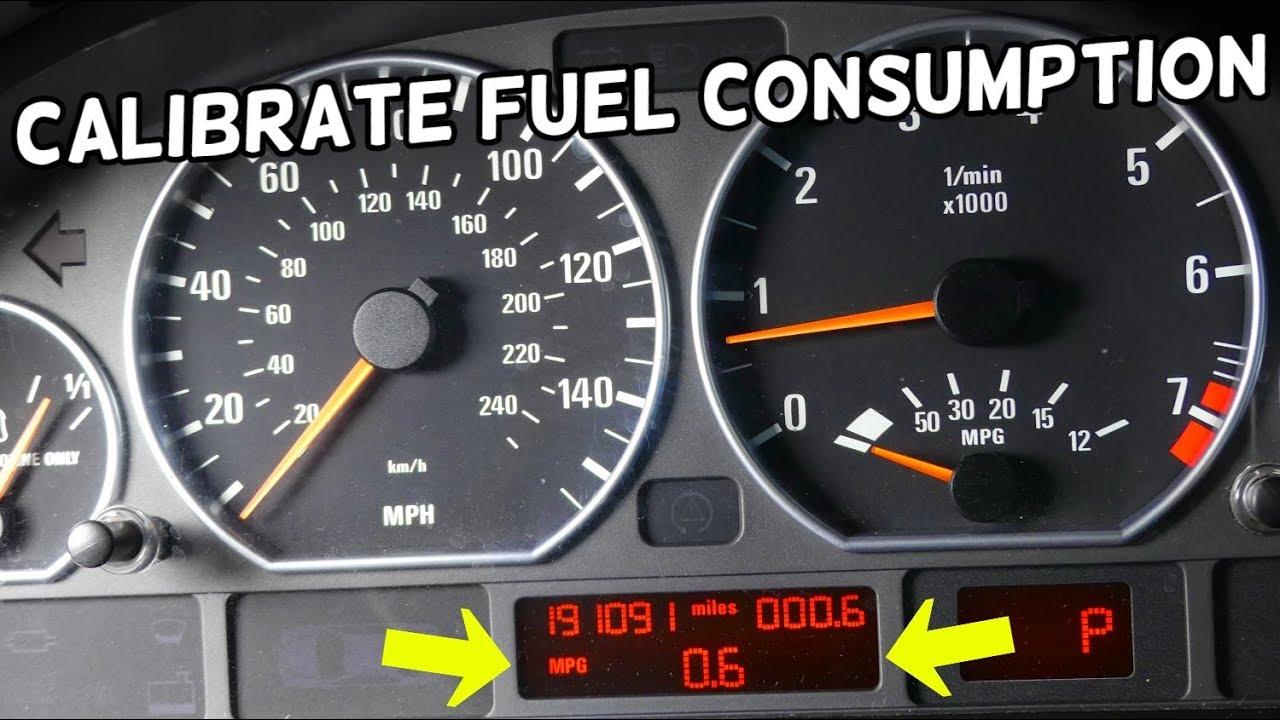 How To Calibrate Fuel Consumption Bmw E46 E39 E60 E53 X3 X5 Z3 Z4 E83 E85 E90 Youtube