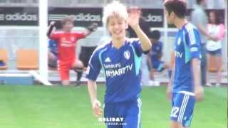 120708 FC Men - Dujun hits Kikwang butt