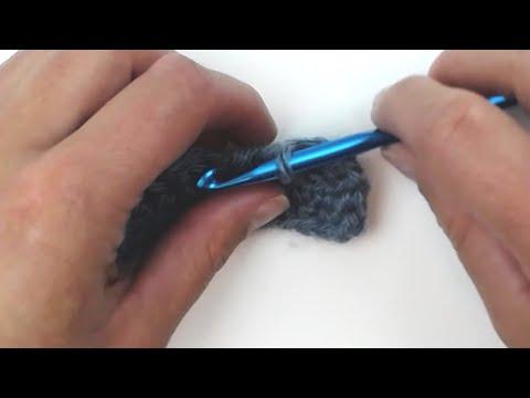 Back Post Half Double Crochet (bphdc)