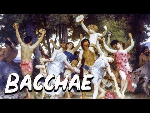 The Bacchae: The Female Followers Of Dionysus - Mythology Dictionary - See U In History