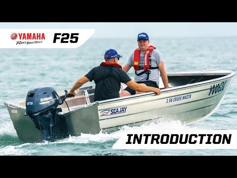 Introducing the New Generation Yamaha F25