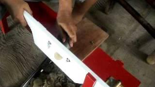 Mesin Perajang Untuk Membuat Keripik Singkong Kripik Tempe.avi