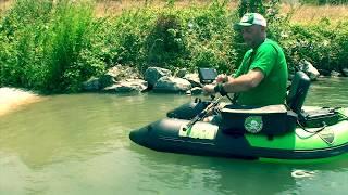 Un float tube propulsé par un moteur électrique !