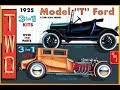 What's in the Box   AMT 1925 Model T 3 in 1 Kit Mar 2017