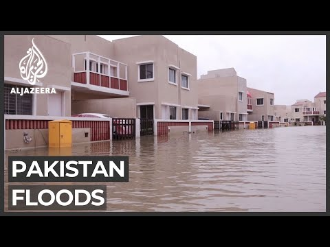 Floods wreak havoc in Pakistan's financial capital, Karachi