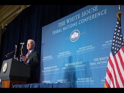 Vice President Biden Speaks at the 2014 Tribal Nations Conference