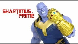 SH Figuarts Thanos Avengers Infinity War Movie 6 Inch Import Bandai Tamashii Nations Figure Review