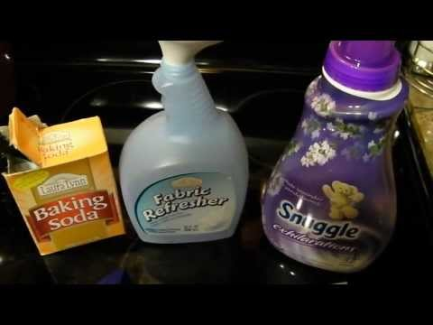How to Make Homemade Febreze Fabric Freshener