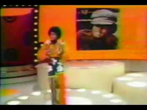 Michael Jackson performing Rockin' Robin live at the American Bandstand