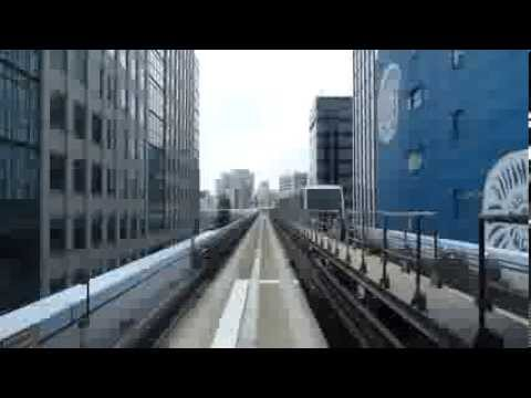Tokyo's monorail