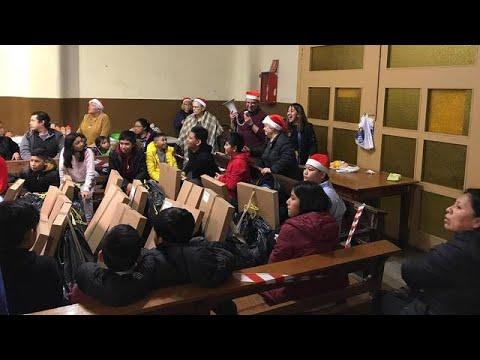 Celebrem el Tió amb els nois/es de la Catequesi parroquial