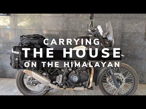 RE Himalayan Touring Luggage & Mods