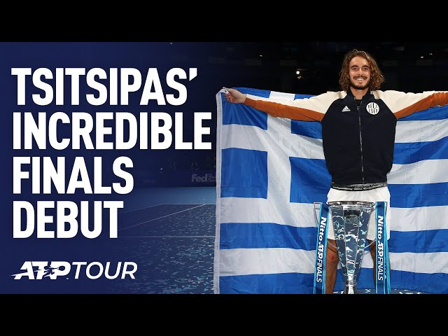 Stefanos Tsitsipas' INCREDIBLE Nitto ATP Finals Debut