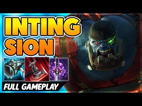 INTING SION VS NEW TOWERS (SEASON 9) - BunnyFuFuu Full Gameplay