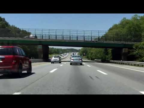 Massachusetts Turnpike (Interstate 90 Exits 15 to 13) westbound