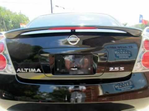 2005 Nissan Altima 4dr Sdn I4 Auto 2.5 S /MANUAL TRANSMISSION (Garland,  Texas)
