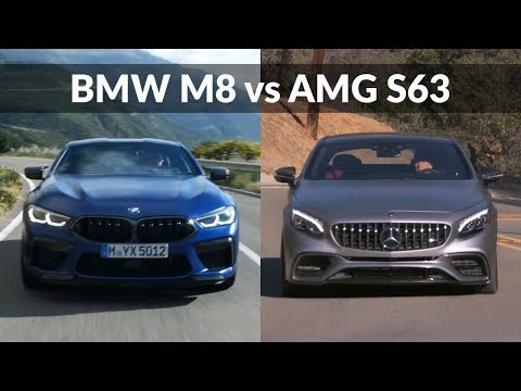 2020 BMW M8 Coupe vs 2019 Mercedes-AMG S63 Coupe - Complete design overview & review