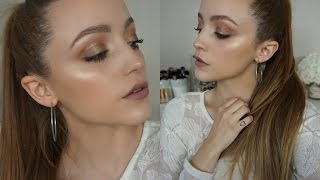 Becca Champagne Glow | Makeup Look