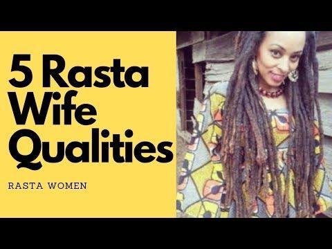 Rastafarian Wife: 5 Qualities A Rastafari Man Looks For In A Potential Wife. Blessed Love!