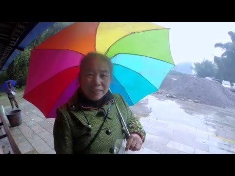 China in winter: Guilin, Yangshuo, Longsheng travel with GoPro