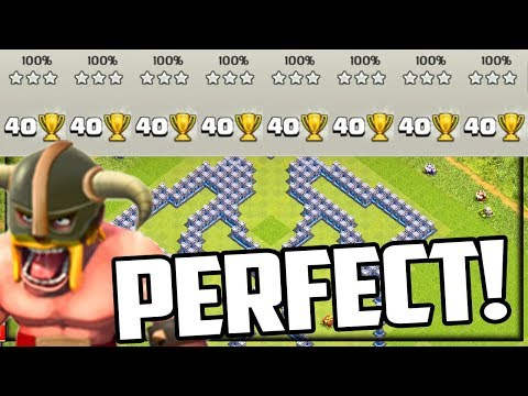 WORLD RECORD? Perfect 800% Clash Of Clans Legend League Attacks!
