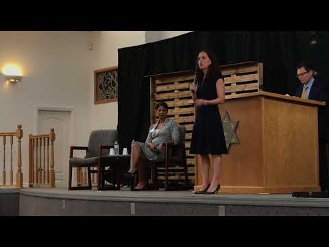 FL-18 Candidates Forum At Temple Beth Israel In Port St  Lucie, FL 08-18-2018