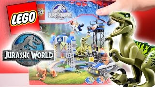 Jurassic World® | Lego | Raptor Escape 75920 | Unboxing & Review