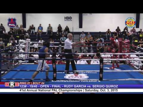 41st Nat. PAL Boxing Tournament | RUDY GARCIA vs. SERGIO QUIROZ