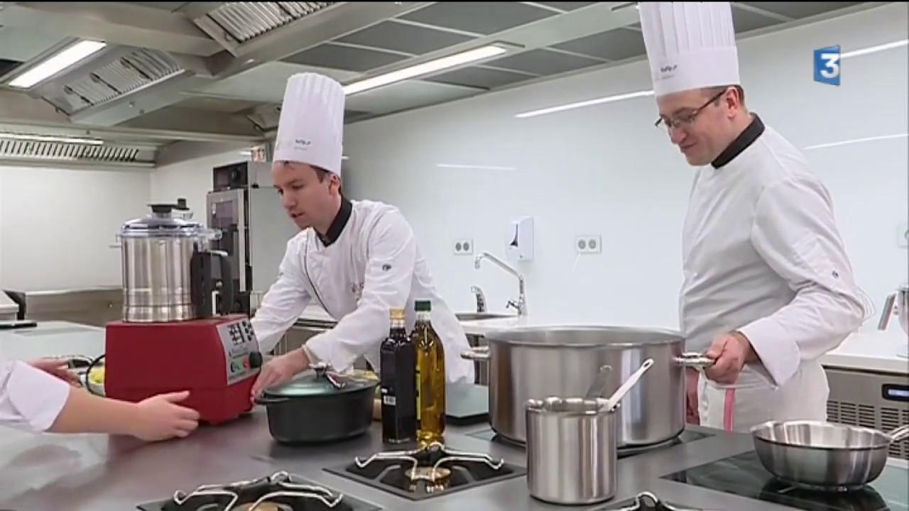 Premier Cours Pour Le Cap Cuisine Institut Bocuse Dans Le Cantal