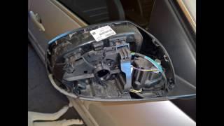 Laguna 3, 2014, how to fix creaking mirrors, jak opravit vrzání zrcátek