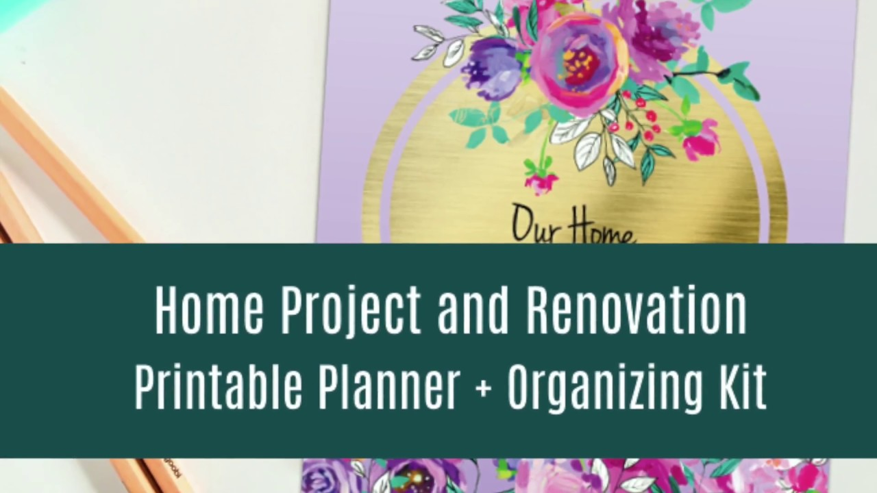 Maxresdefault Home Improvement Project And Renovation Planner Diy Planner On Home Improvement Project Planner