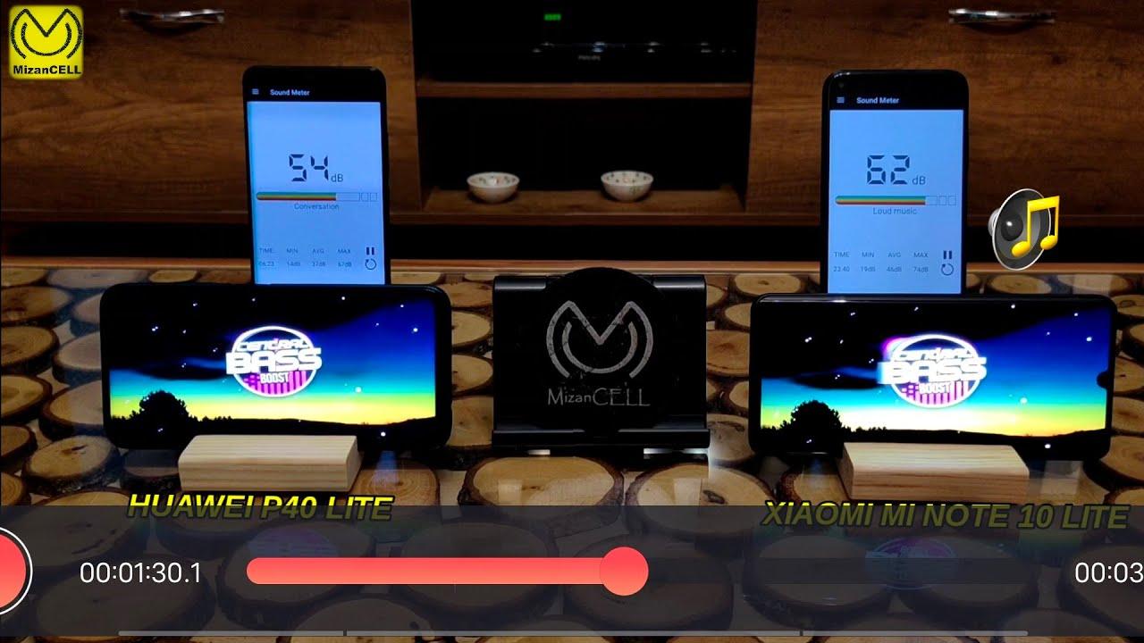 Huawei P40 Lite / Xiaomi Mi Note 10 Lite Ses testi Hoparlör / Sound Testi Speaker