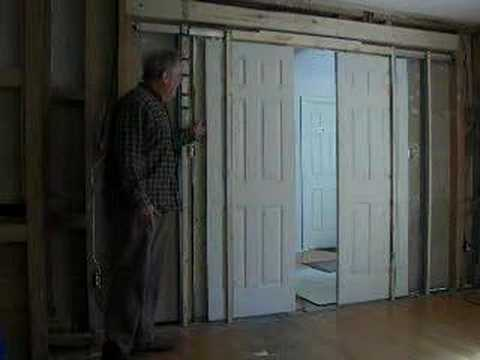 Mechanization Of Pocket Door