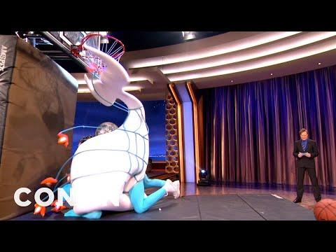 NBA Mascots That Should Never Dunk 2/9/2012 - CONAN on TBS