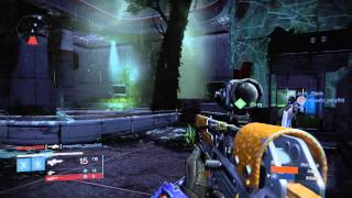 Destiny: The Dark Below - Weekly Skirmish on Asylum Map: 8 Kills 17 Deaths Titan Gameplay PS4