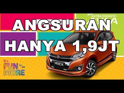 Harga Promo Daihatsu Ayla Di Rantau Angsuran Hanya 1,9JT