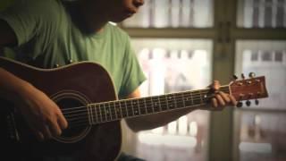 ดอกไม้ในหัวใจ - ปนัดดา เรืองวุฒิ (Fingerstyle Guitar)   ปิ๊ก cover