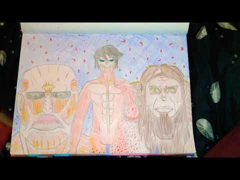 Attack on Titan Anime Art Tutorial (Titan Time) by Jasmeet thumbnail