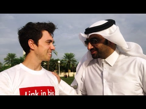 SPEAKING ARABIC WITH A QATARI [Full Video, Uncut]