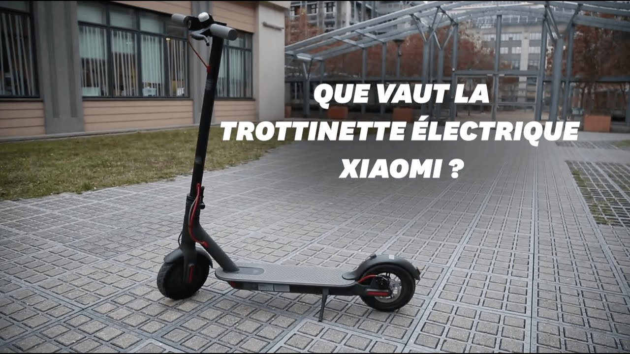 on a test la trottinette lectrique xiaomi m365 youtube. Black Bedroom Furniture Sets. Home Design Ideas
