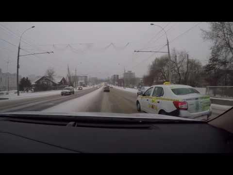Iarna în Chişinău 06.01.2017