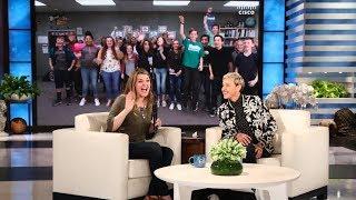 Ellen Surprises a Deserving Orchestra Teacher